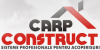 CARP CONSTRUCT - acoperisuri - tigle metalice - tabla acoperis - sisteme pluviale