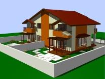 Case individuale cu 4 camere