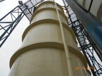Aplicare polimerci ceramici - rezervor acid clorhidric