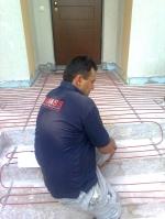 Montaj sisteme de încălzire în pardoseală