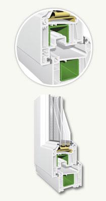 Profile PVC Windoline