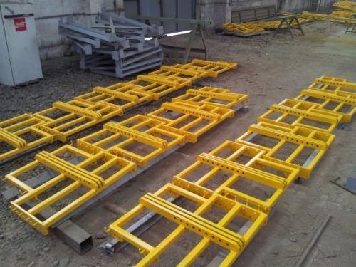 Fabricarea de constructii metalice
