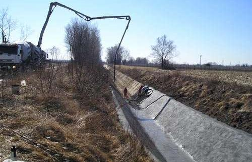 Recondiținare canale din beton armat