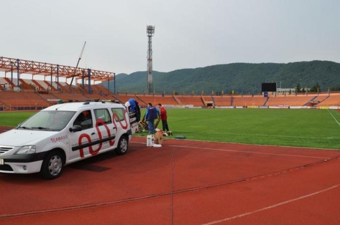 Încălzire stadion Ceahlăul Piatra Neamț