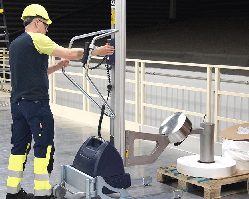 Platforme cu actionare hidraulica