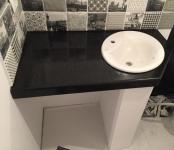 Blat marmura pentru baie