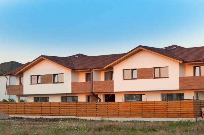 Tigla Decra Octava Mocha Ansamblu rezidential Andronache duplex