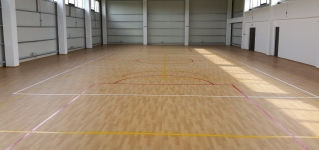 Pardoseli sportive indoor