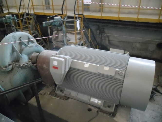 Modernizare stație pompare cu înlocuire de echipamente noi