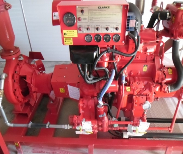 Instalare stație de incendiu