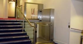 Platforma verticala pentru persoane cu dizabilitati