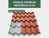 Tigla metalica Mediteran Plus