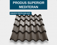 Tigla metalica Mediteran