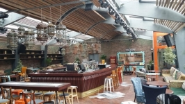 Structura si amenajare restaurant Nomad Centrul Vechi, Bucuresti