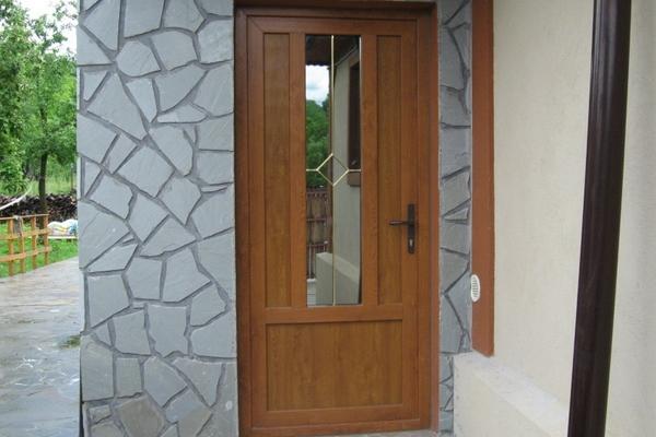 Uși termopan exterior