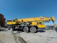 Automacara telescopică COLES - Qmax 80T, braț 38m + 12m