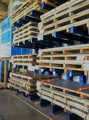Rafturi pentru TABLE METALICE și Profile