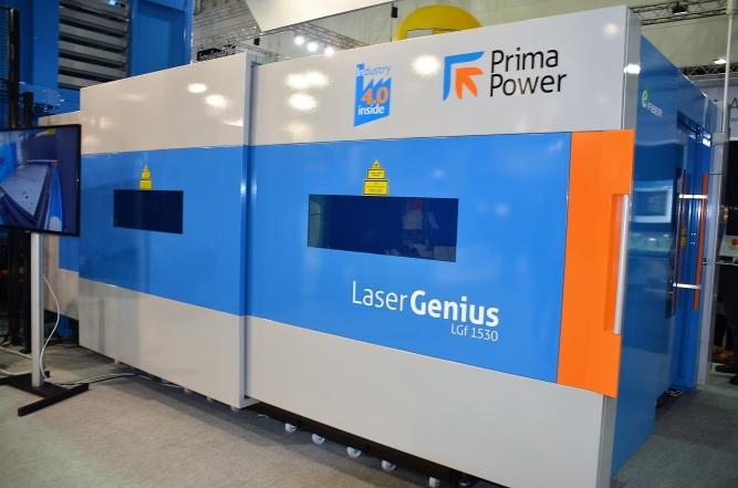 Laser 2D - Fiber 4000 W Putere