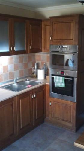 Mobilier bucătărie stil rustic