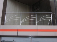 Balustrade inox model evantai