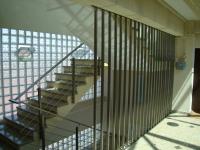 Balustrada inox cu 4 traverse