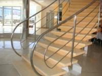 Balustrade inox cu 3 traverse