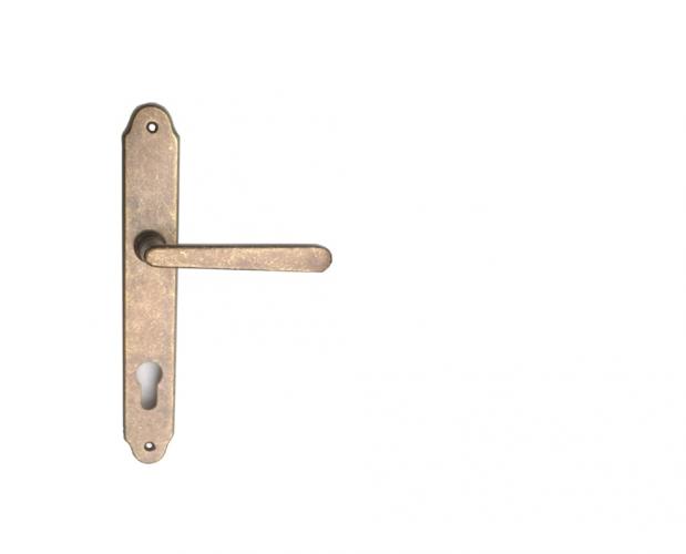 Mânere pentru porți din profile metalice