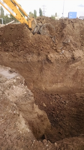 Prestari servicii excavator