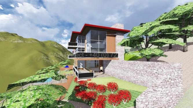 Proiect casa cu 3 etaje-P+3Magnolia