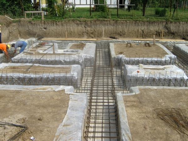 Fundații pentru construcții civile sau industriale