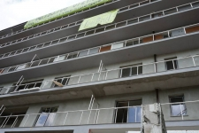 Tencuieli mecanizate blocuri rezidentiale