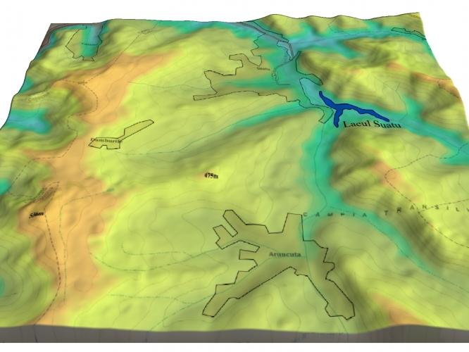 Hartă topografică