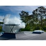 Model pentru evacuarea fumului
