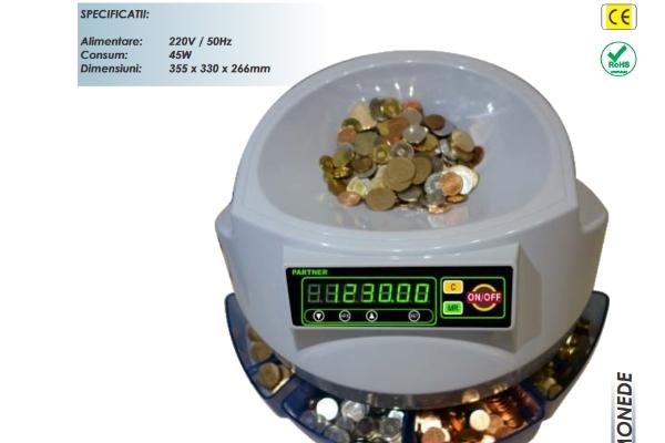Masina numarat monede