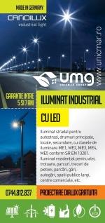 Iluminat industrial cu led