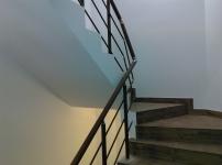 Balustrada aluminiu imitatie lemn nuc