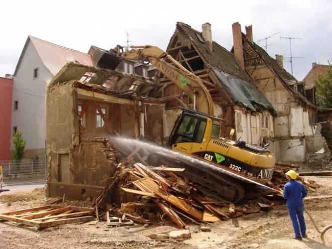 Demolări industriale