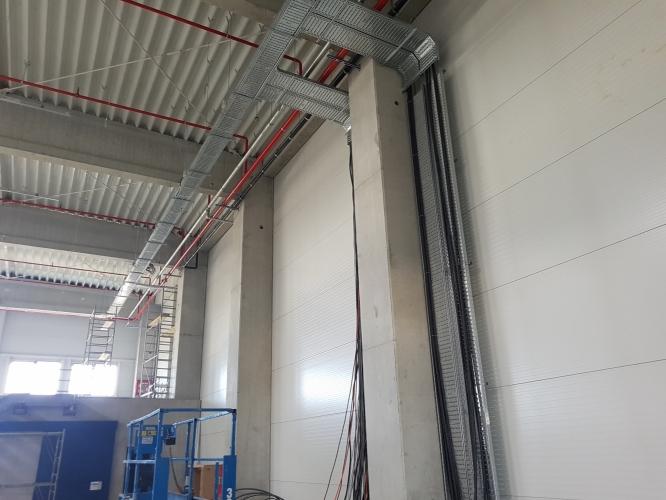 Instalatii - hala industriala